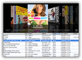 Restore the miniplayer to a full iTunes window