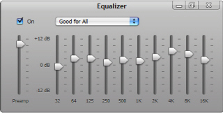 iTunes' Equalizer