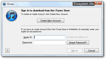 Sign in to iTunes with a different Apple ID